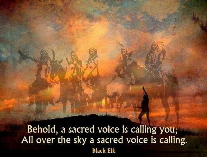 Black Elk Native American Quote 1 Picture Quote #1