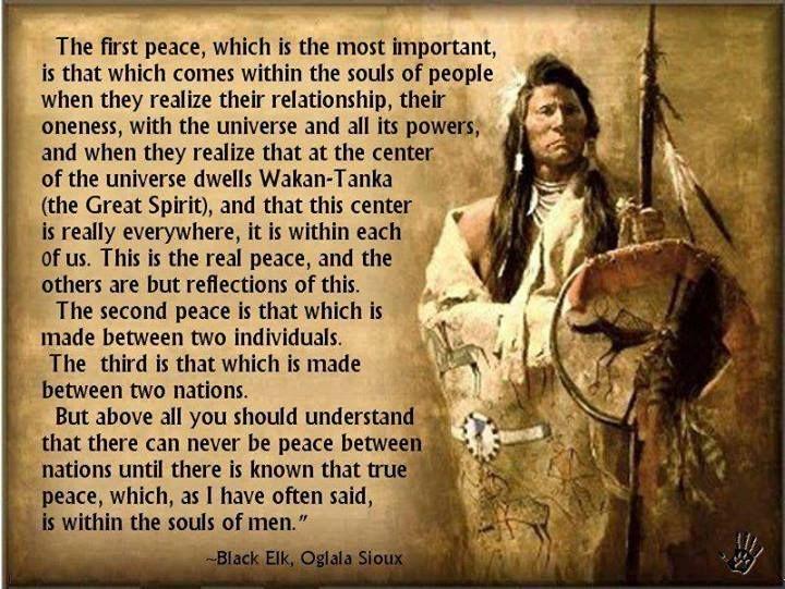 Black Elk Native American Quote 4 Picture Quote #1