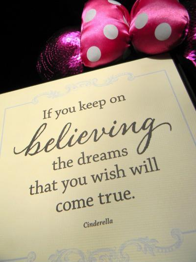 If you keep on believing, the dreams that you wish will come true Picture Quote #1