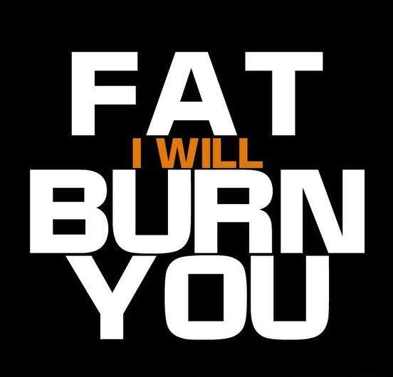 Fat i will burn you Picture Quote #1