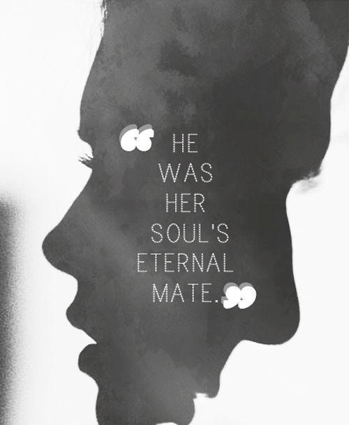 He was her soul's eternal mate Picture Quote #1