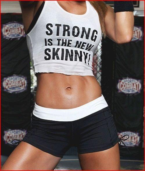 Strong is the new skinny Picture Quote #1