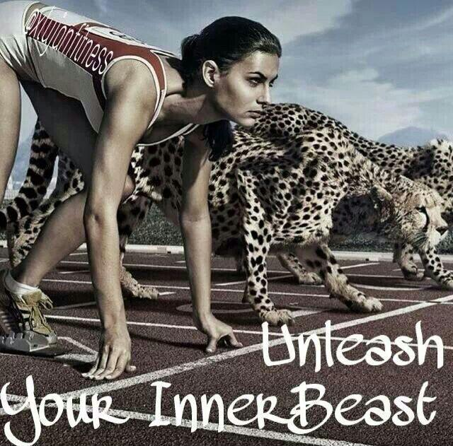 Unleash your inner beast Picture Quote #1