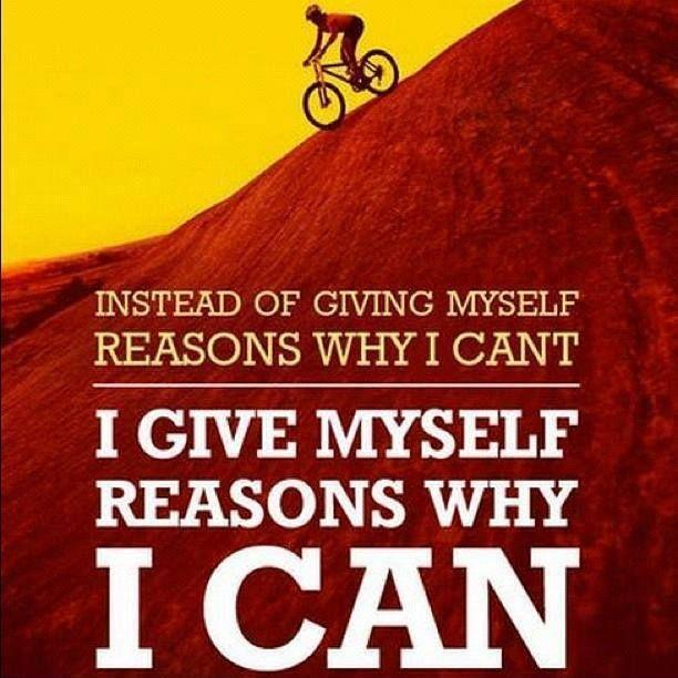 Instead of giving myself reasons why i can't, i give myself reasons why i can Picture Quote #1