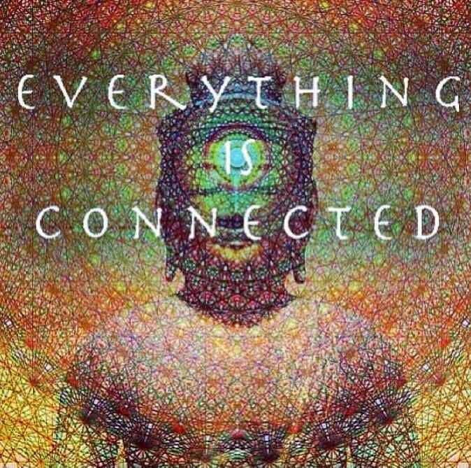 Everything is connected Picture Quote #1