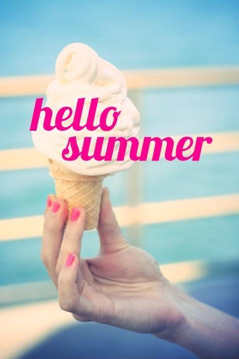 Hello summer! Picture Quote #2