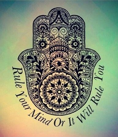 Rule your mind or it will rule you Picture Quote #1