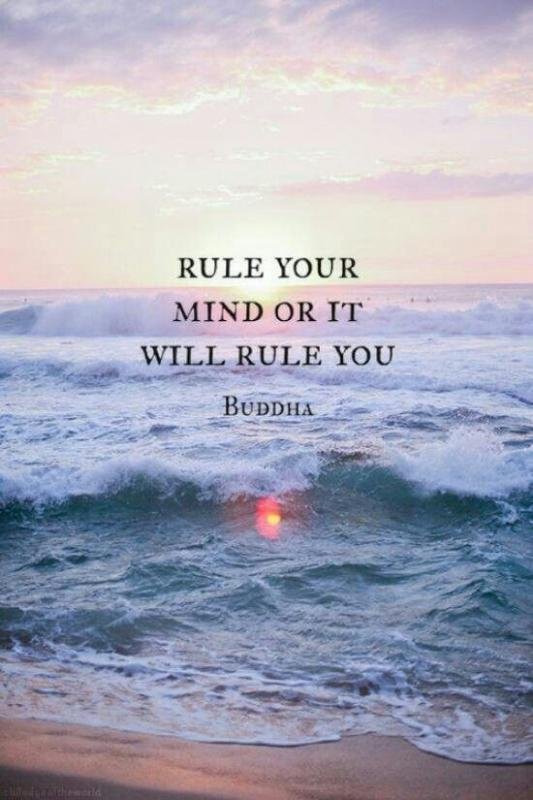 Rule your mind or it will rule you Picture Quote #2