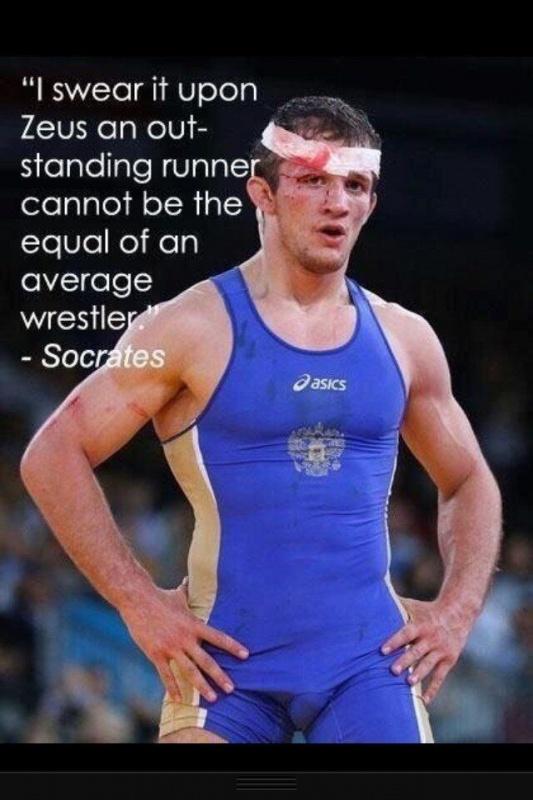 Wrestling Quote 1 Picture Quote #1