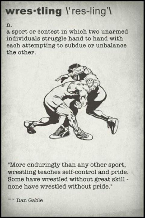 Wrestling Quote 5 Picture Quote #1