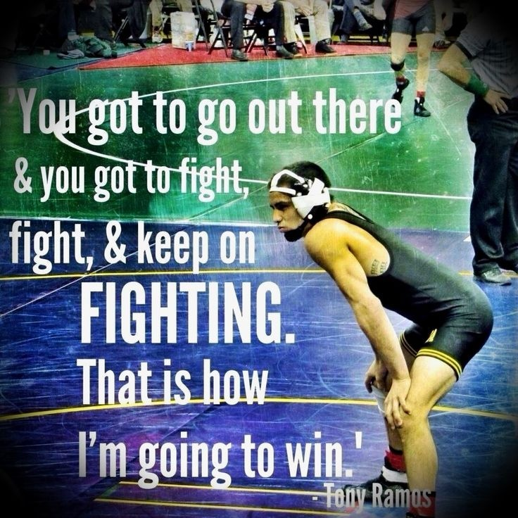 Wrestling Quote 11 Picture Quote #1