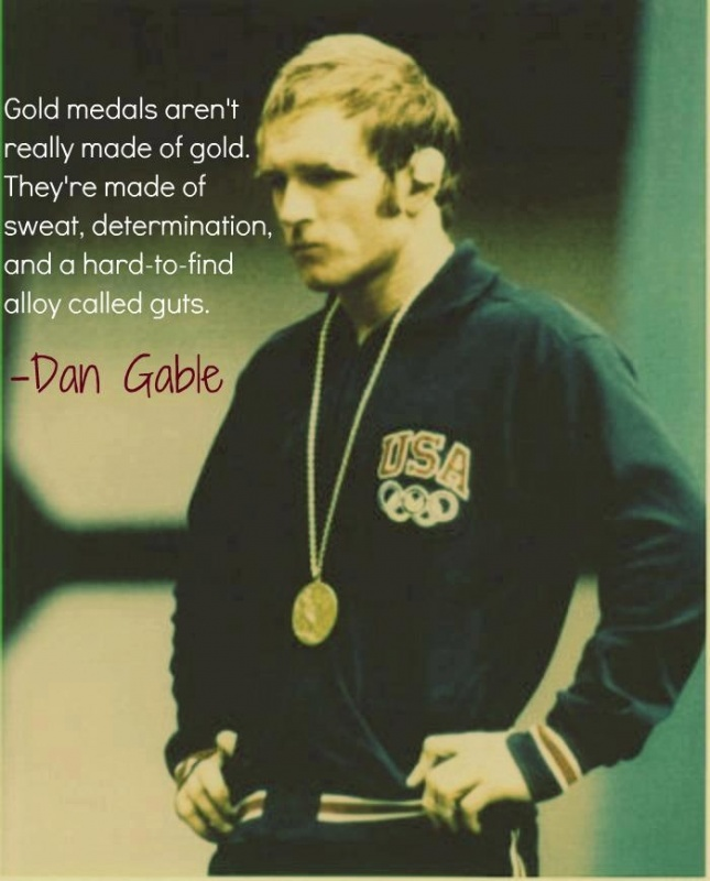 Wrestling Quote For Hard Work 1 Picture Quote #1