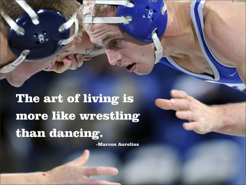 Wrestling Quote 19 Picture Quote #1