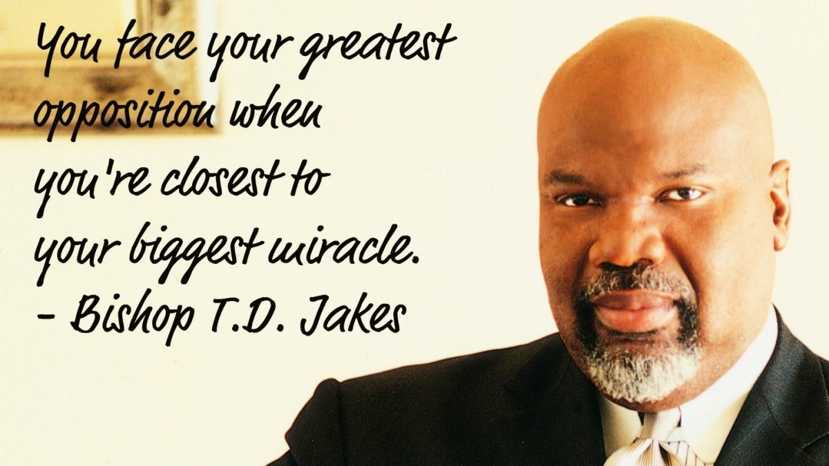 Td Jakes Quotes On Life Td Jakes Quote  Quote Number 599868  Picture Quotes