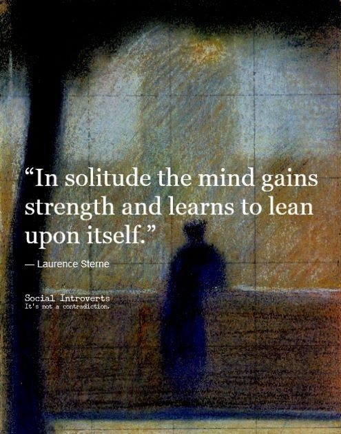 Quotes On Solitude Awesome Solitude Quote  Quote Number 600054  Picture Quotes