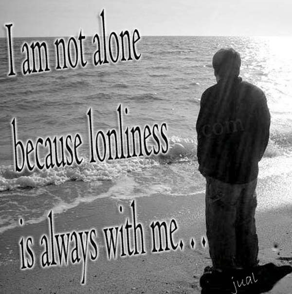Being Alone Quote 2 Picture Quote #1