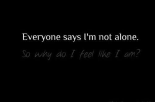 Being Alone Quote 8 Picture Quote #1