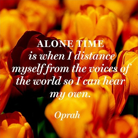 Inspirational Quote About Being Alone 1 Picture Quote #1