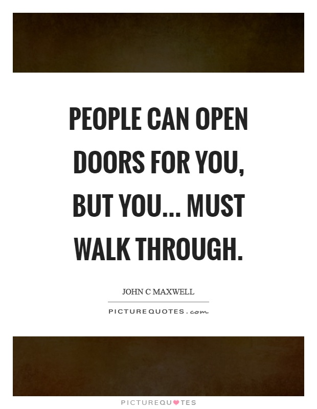 People Opening Doors : Doors quotes sayings picture