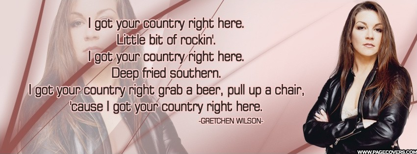 Country Song Lyric Quote 1 Picture Quote #1