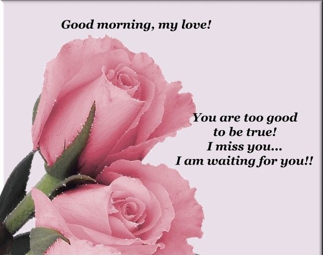 Cute Good Morning Quote For Her | Quote Number 601038 ...