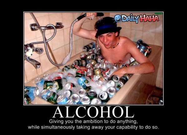 Funny Alcohol Quote 4 Picture Quote #1
