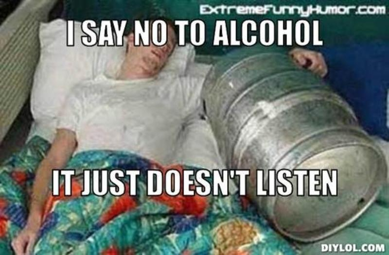 Say No To Alcohol Quote 1 Picture Quote #1