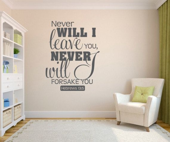 Religious Quote Wall Decals Quote Number 601604