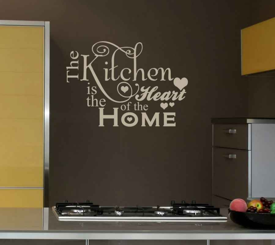 Wall Decals Quote Kitchen 2 Picture Quote #1