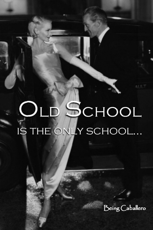 old school manners quote quote number 601912 picture quotes