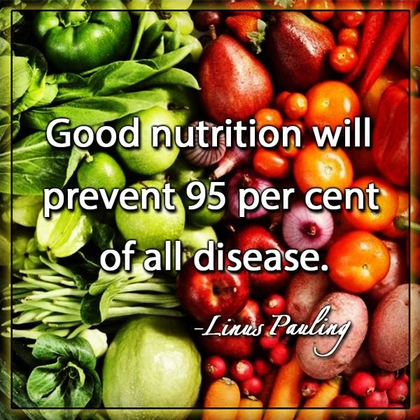 Good nutrition will prevent 95 per cent of all disease Picture Quote #1