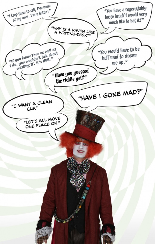 Mad Hatter Quote 1 Picture Quote #1
