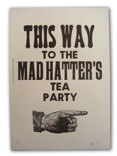 Mad Hatter Tea Quote 2 Picture Quote #1