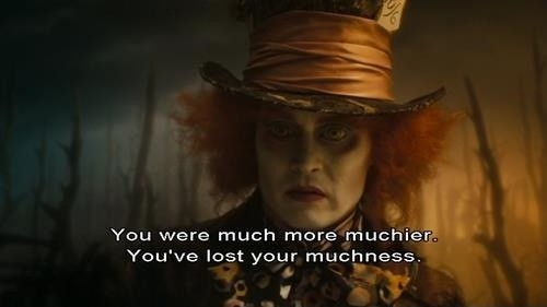 Mad Hatter Johnny Depp Quote 1 Picture Quote #1