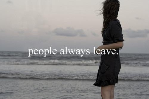 People Leaving Quote 1 Picture Quote #1