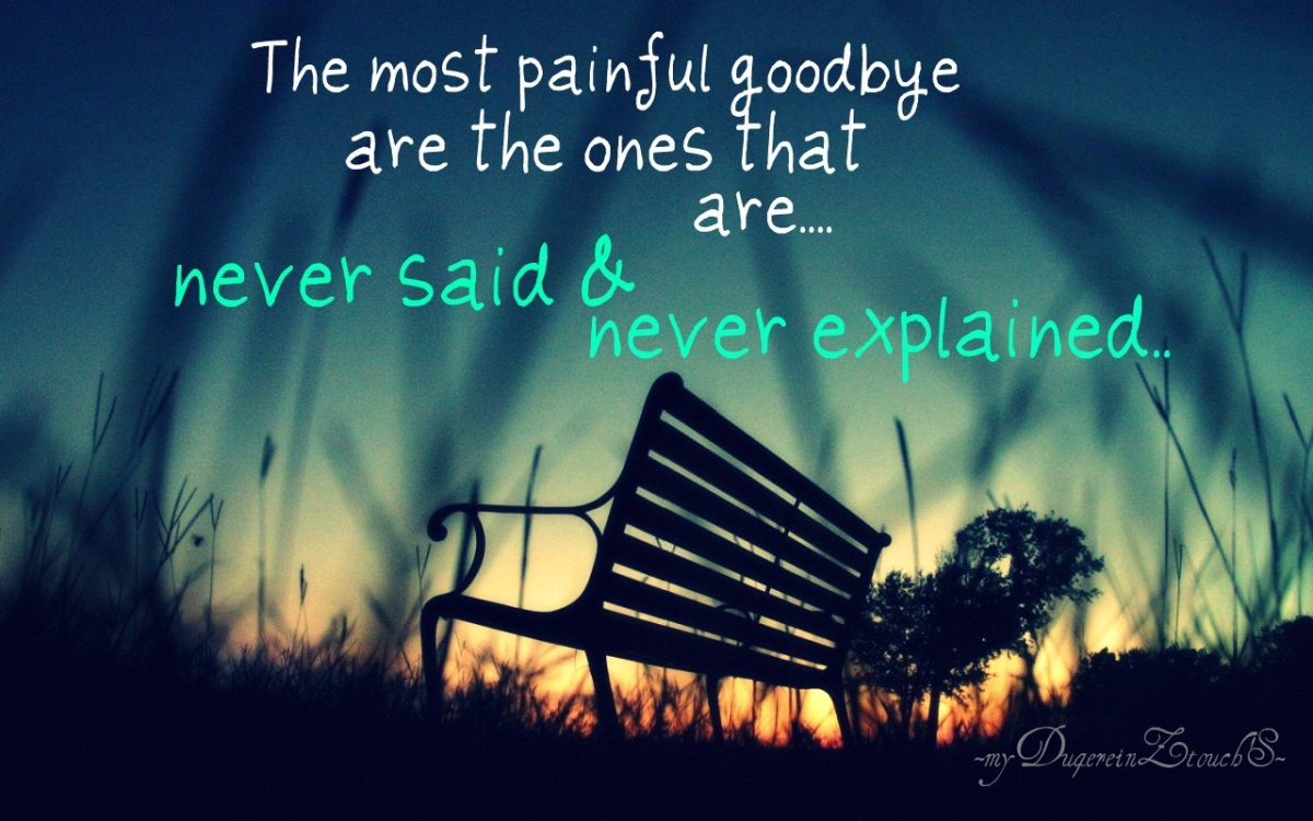 leaving quotes sad - photo #7
