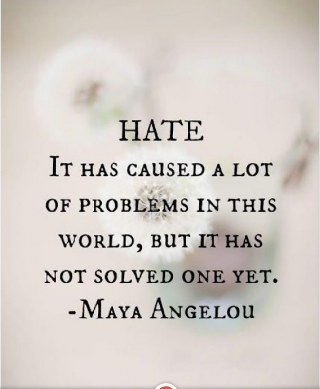 Hatred Quote 1 Picture Quote #1