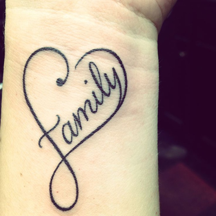 Family Love Quote For Tattoos 1 Picture Quote #1