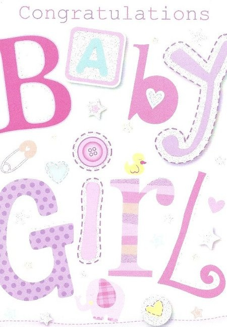 Baby Girl Congratulations Quote 2 Picture Quote #1
