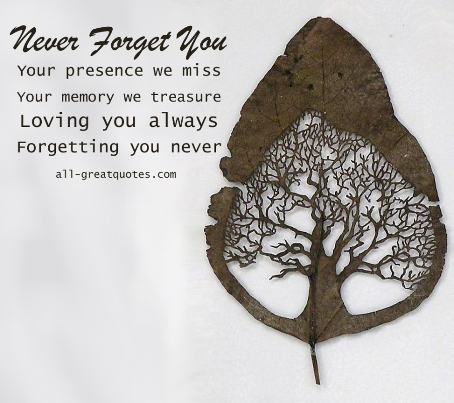 In Loving Memory Quote 9 Picture Quote #1