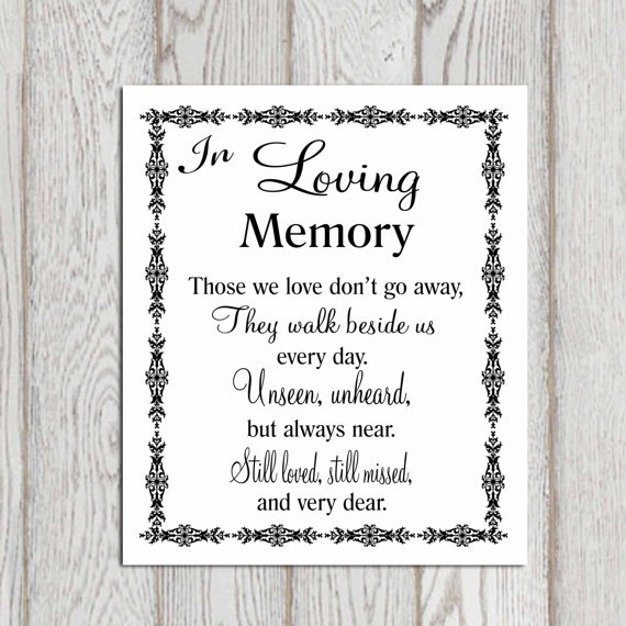 Memory Quotes Images: In Loving Memory Quotes & Sayings