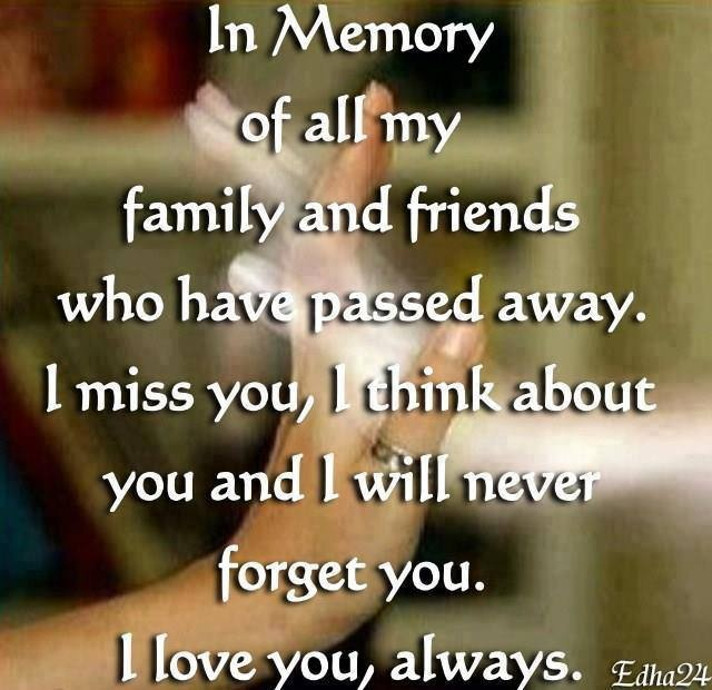 In Loving Memory Sayings And Quotes Simple Memories Never Die Quote Message January 2018  The Best
