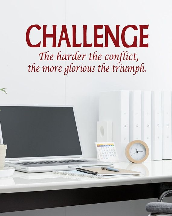 Business Challenge Quote 1 Picture Quote #1