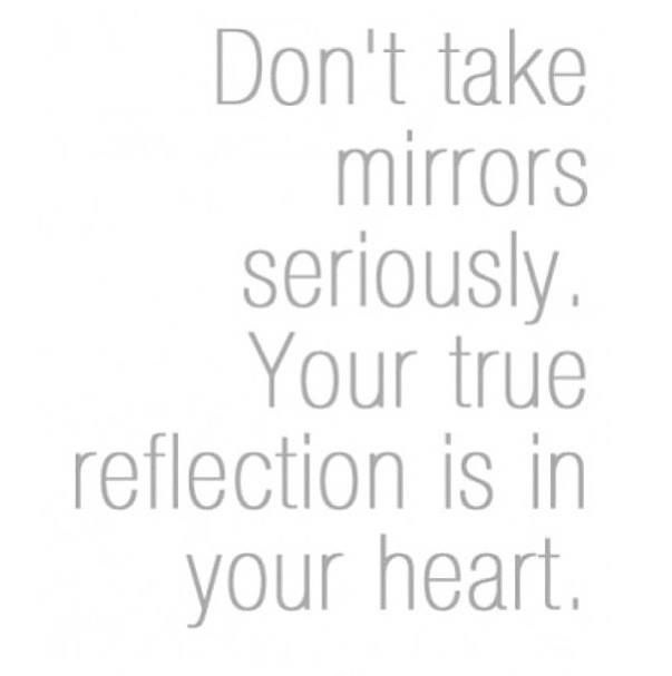 Mirror Reflection Quote 1 Picture Quote #1