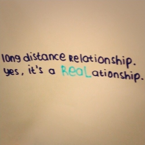 Long Distance Love Quote 1 Picture Quote #1