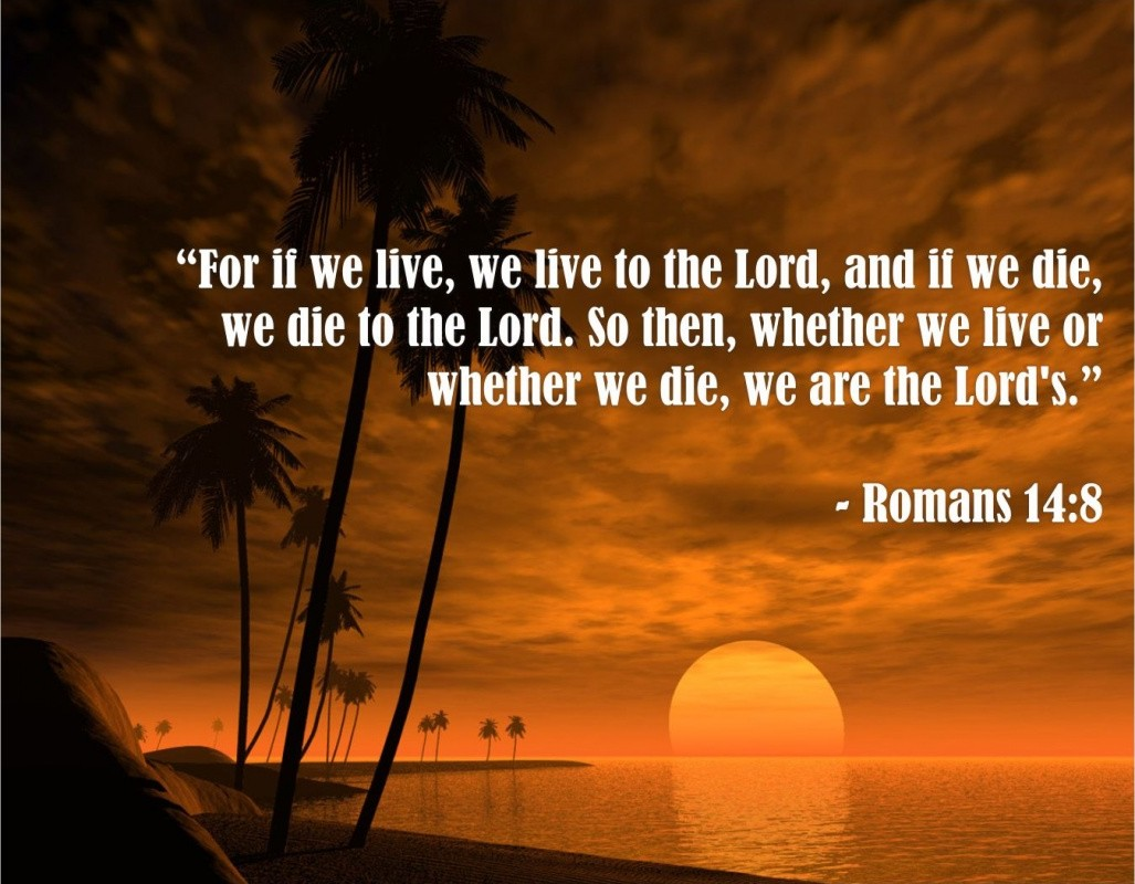 Amazing Bible Quote About Life And Death 1 Picture Quote #1