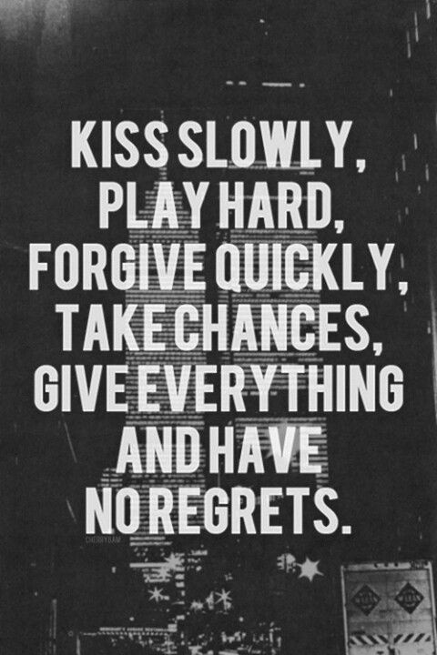 No Regrets Quote 1 Picture Quote #1