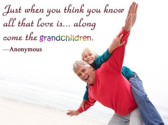 Grandchildren Quote 4 Picture Quote #1
