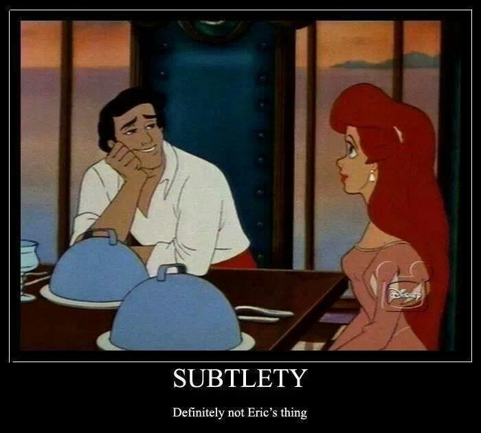 Prince Eric Little Mermaid Quote 1 Picture Quote #1
