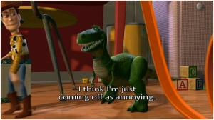 Toy Story Rex Quote Quote Number 603495 Picture Quotes